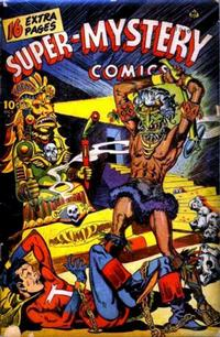 Cover Thumbnail for Super-Mystery Comics (Ace Magazines, 1940 series) #v6#2