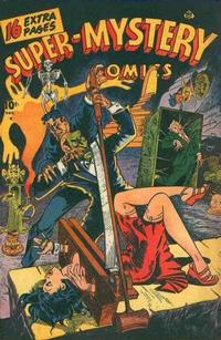 Cover Thumbnail for Super-Mystery Comics (Ace Magazines, 1940 series) #v6#3
