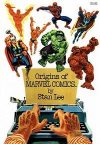 Cover Thumbnail for Origins of Marvel Comics (Simon and Schuster, 1974 series)  [First Print]