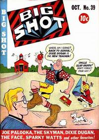 Cover Thumbnail for Big Shot (Columbia, 1942 series) #39