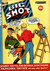Cover Thumbnail for Big Shot (Columbia, 1942 series) #43