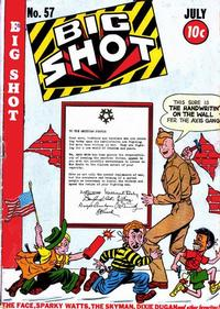 Cover Thumbnail for Big Shot (Columbia, 1942 series) #57