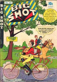 Cover Thumbnail for Big Shot (Columbia, 1942 series) #58