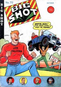 Cover Thumbnail for Big Shot (Columbia, 1942 series) #70