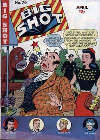 Cover Thumbnail for Big Shot (Columbia, 1942 series) #76