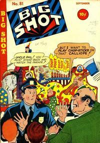 Cover Thumbnail for Big Shot (Columbia, 1942 series) #81