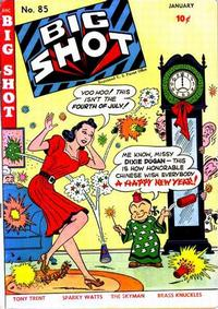 Cover Thumbnail for Big Shot (Columbia, 1942 series) #85
