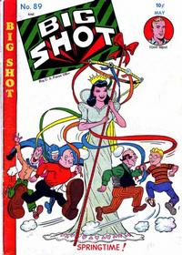Cover Thumbnail for Big Shot (Columbia, 1942 series) #89