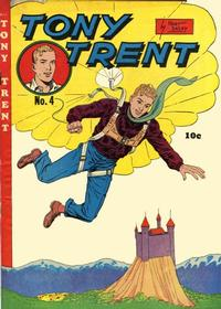 Cover Thumbnail for Tony Trent (Columbia, 1948 series) #4