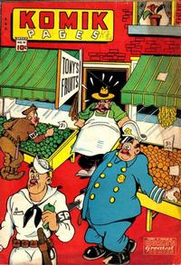 Cover Thumbnail for Komik Pages (Chesler / Dynamic, 1945 series) #1 (10)