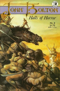 Cover Thumbnail for John Bolton's Halls of Horror (Eclipse, 1985 series) #2
