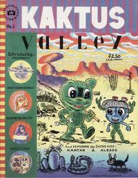 Cover Thumbnail for Kaktus Valley (Fantagraphics, 1990 series) #1
