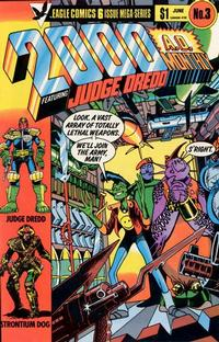 Cover Thumbnail for 2000 A.D. [2000 A.D. Monthly] (Eagle Comics, 1985 series) #3