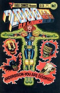 Cover Thumbnail for 2000 A.D. (Eagle Comics, 1986 series) #2