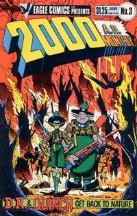 Cover Thumbnail for 2000 A.D. (Eagle Comics, 1986 series) #3