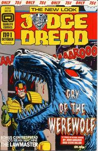 Cover Thumbnail for Judge Dredd (Quality Periodicals, 1986 series) #1 (36)