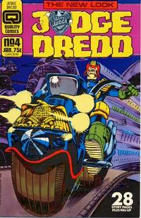 Cover Thumbnail for Judge Dredd (Quality Periodicals, 1986 series) #4 (39)