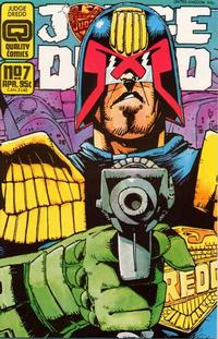Cover Thumbnail for Judge Dredd (Quality Periodicals, 1986 series) #7