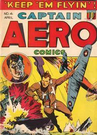 Cover Thumbnail for Captain Aero Comics (Holyoke, 1942 series) #v1#10 (4)