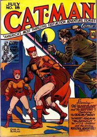 Cover Thumbnail for Cat-Man Comics (Temerson / Helnit / Continental, 1941 series) #v3#8 (18)