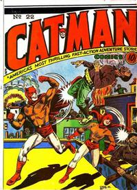 Cover Thumbnail for Cat-Man Comics (Temerson / Helnit / Continental, 1941 series) #v2#9 (22)