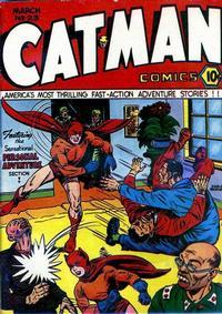 Cover Thumbnail for Cat-Man Comics (Temerson / Helnit / Continental, 1941 series) #v2#10 (23)