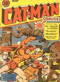 Cover Thumbnail for Cat-Man Comics (Temerson / Helnit / Continental, 1941 series) #v3#13 [24]