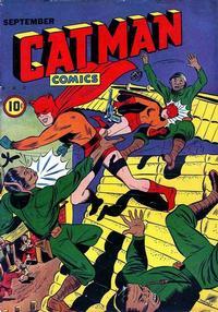 Cover Thumbnail for Cat-Man Comics (Temerson / Helnit / Continental, 1941 series) #v3#1 [26]