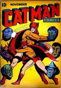 Cover Thumbnail for Cat-Man Comics (Temerson / Helnit / Continental, 1941 series) #v3#2 [26a]