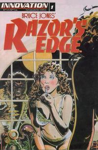 Cover Thumbnail for Bruce Jones's Razor's Edge (Innovation, 1993 series) #1