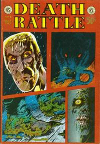 Cover Thumbnail for Death Rattle (Kitchen Sink Press, 1972 series) #3