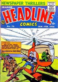 Cover Thumbnail for Headline Comics (Prize, 1943 series) #v11#2 (74)