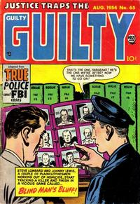Cover Thumbnail for Justice Traps the Guilty (Prize, 1947 series) #v7#11 (65)