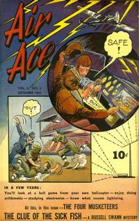 Cover Thumbnail for Air Ace (Street and Smith, 1944 series) #v2#5