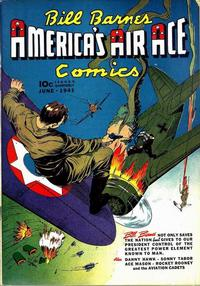 Cover Thumbnail for Bill Barnes, America's Air Ace Comics (Street and Smith, 1941 series) #3
