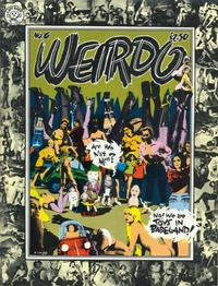 Cover Thumbnail for Weirdo (Last Gasp, 1981 series) #6 [1st printing]