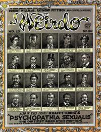 Cover Thumbnail for Weirdo (Last Gasp, 1981 series) #13