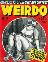 Cover Thumbnail for Weirdo (Last Gasp, 1981 series) #15