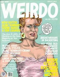 Cover Thumbnail for Weirdo (Last Gasp, 1981 series) #18