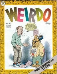 Cover Thumbnail for Weirdo (Last Gasp, 1981 series) #22