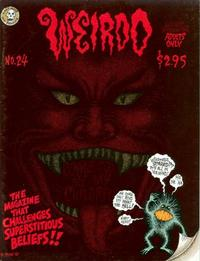 Cover Thumbnail for Weirdo (Last Gasp, 1981 series) #24