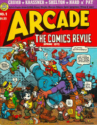Cover Thumbnail for Arcade (The Print Mint Inc, 1975 series) #1