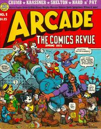 Cover Thumbnail for Arcade the Comics Revue (The Print Mint Inc, 1975 series) #1
