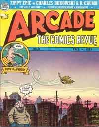 Cover Thumbnail for Arcade (The Print Mint Inc, 1975 series) #3