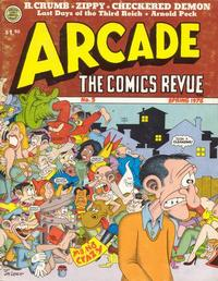 Cover Thumbnail for Arcade the Comics Revue (The Print Mint Inc, 1975 series) #5