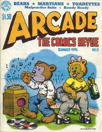 Cover Thumbnail for Arcade the Comics Revue (The Print Mint Inc, 1975 series) #6