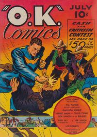 Cover Thumbnail for O.K. Comics (Worth Carnahan, 1940 series) #1