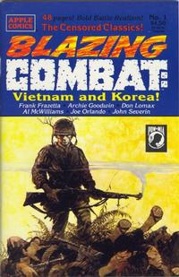 Cover Thumbnail for Blazing Combat: Vietnam and Korea (Apple Press, 1993 series) #1