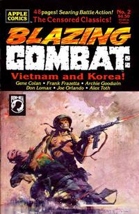 Cover Thumbnail for Blazing Combat: Vietnam and Korea (Apple Press, 1993 series) #2
