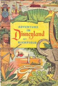 Cover Thumbnail for Adventure in Disneyland (Western, 1955 series)